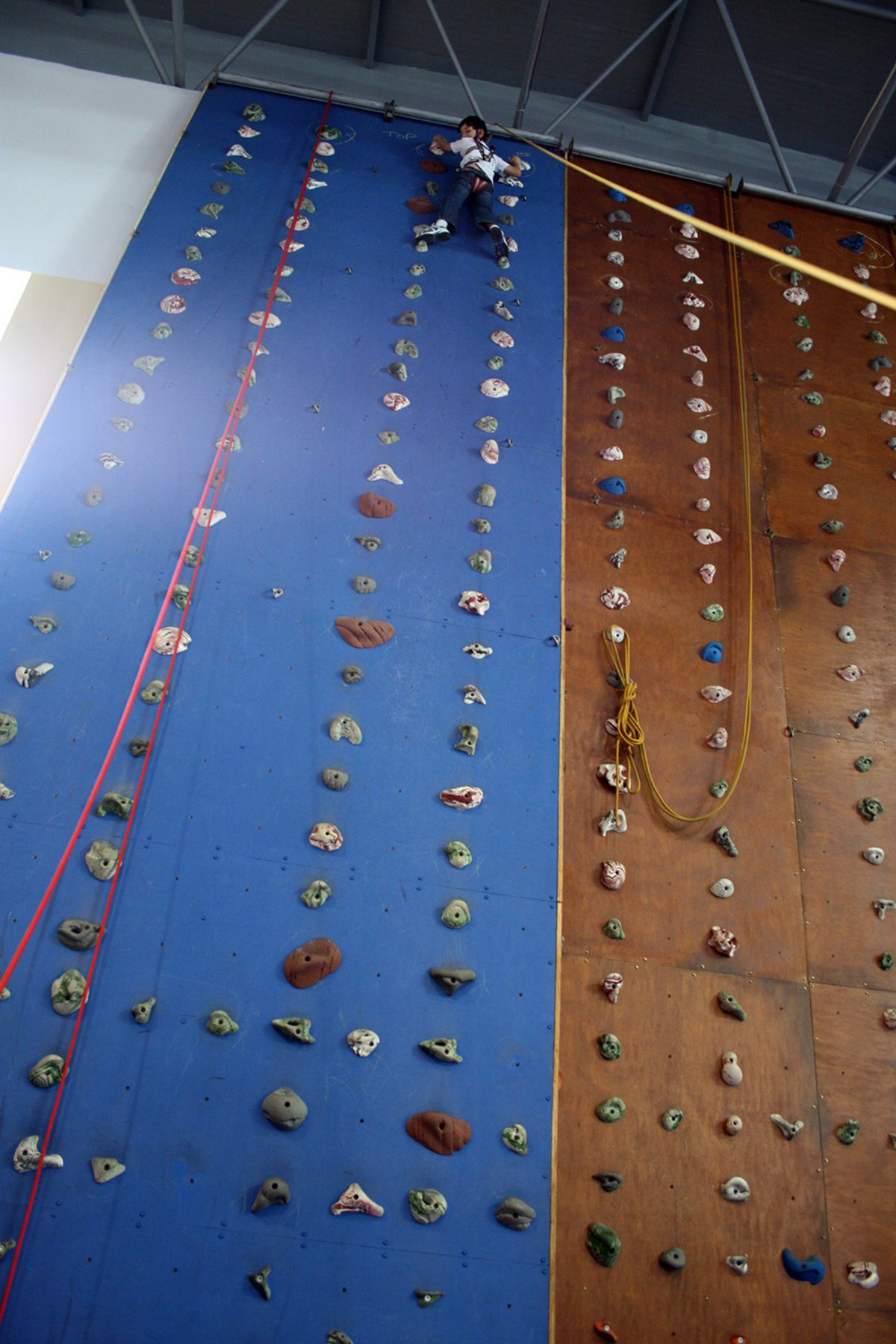 Indoor climbing walls
