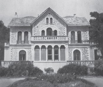 ACS' first home on Tatoiou Ave., Kifissia