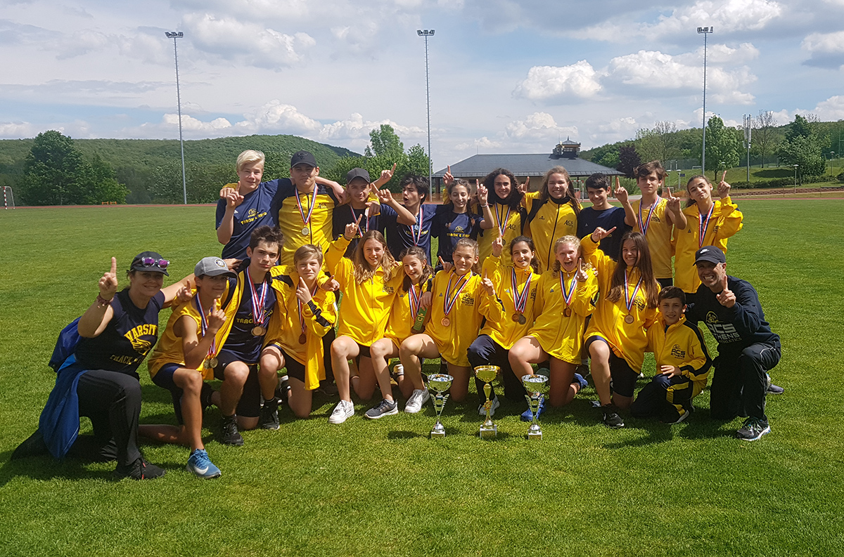 Middle School Track team