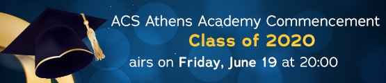 ACS Athens Academy 2020 Commencement